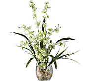 19 Orchid Silk Flower Arrangement by Nearly Natural - H292158