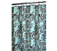 Watershed 2-in-1 Cambria 72x72 Shower Curtain - H357158