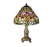 Tiffany Style 13 Poinsettia Mini Lamp - H122459