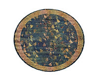 Sphinx Fall Border 8 Round Rug by Oriental Weavers - H139059