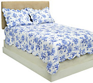 Harborside Floral 100Cotton King Reversible - H204559