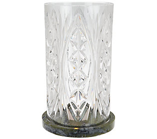 Waterford and Connemara Marble Cylinder