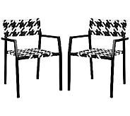 Safavieh Halden Outdoor Arm Chairs, Set of 2 - H283259