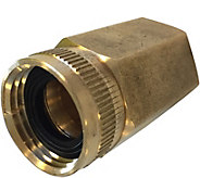 Sun Joe XL Dual Swivel Brass Connector 3/4 x 2 - H293759