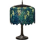 Meyda Tiffany-Style 28 Wisteria Table Lamp - H294059