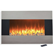 Northwest 36 Stainless Steel Electric Fireplace - H294159