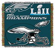 NFL Super Bowl LII Philadelphia Eagles Tapestry Throw - H295959