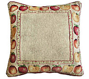 Apple Variety 18x18 Tapestry Decorative Pillow - H349159