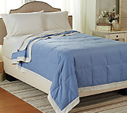 Northern Nights 550 Fill Power Lightweight Linen & Cotton QN Down Blanket - H205660