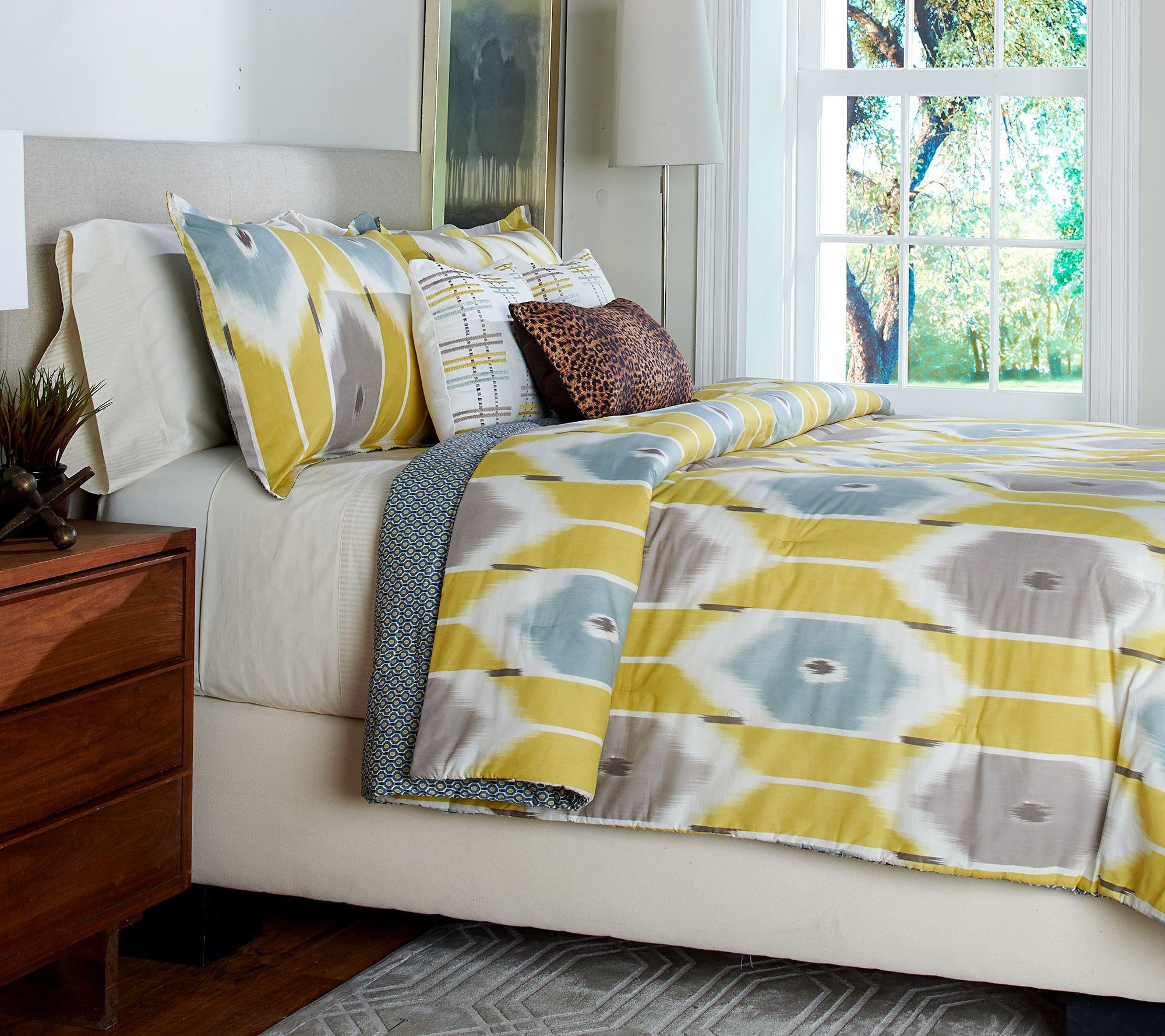 Scott Living Sumatra 5 Piece Twin Reversible Comforter Set