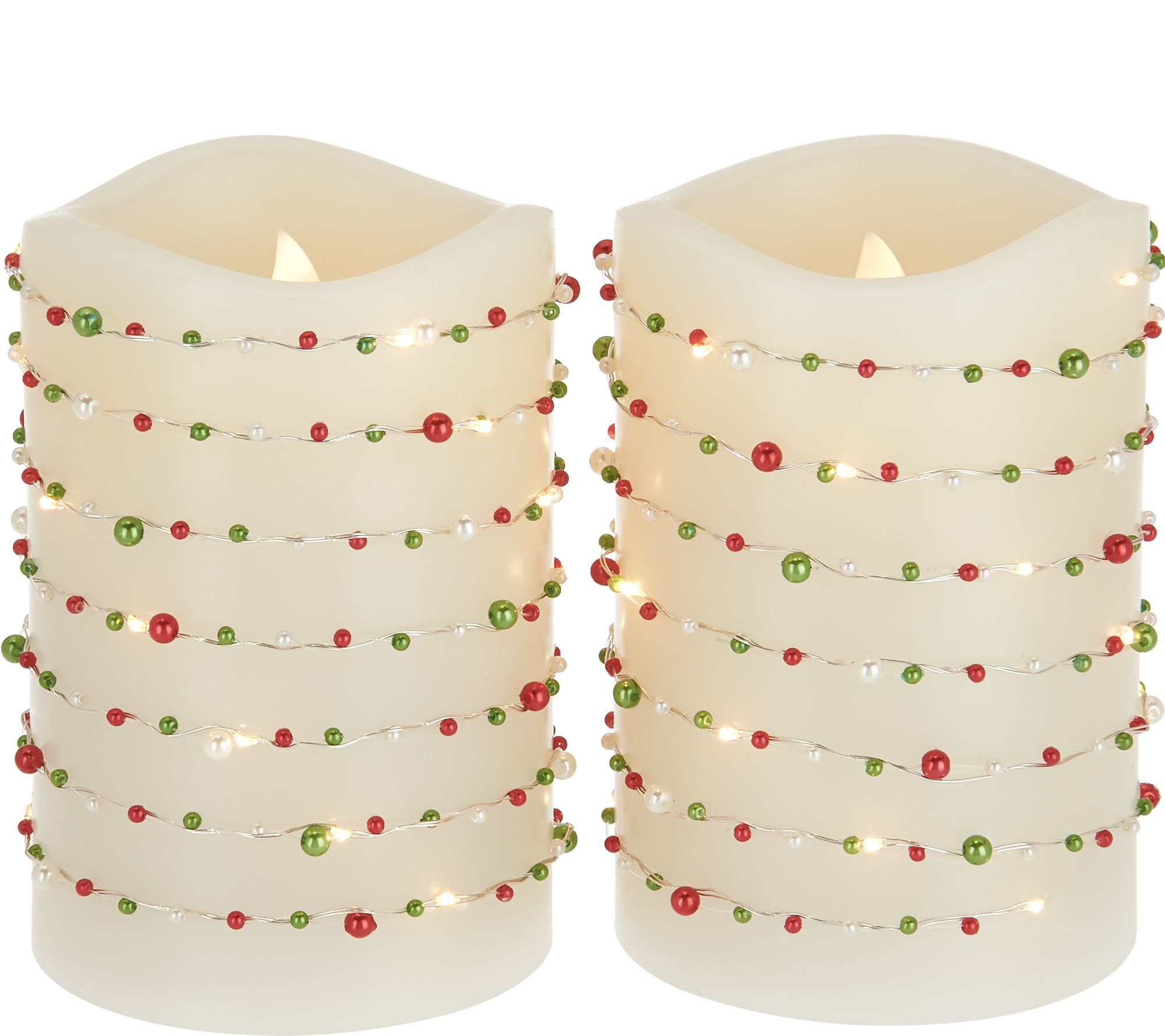 flameless candles u2014 home u0026 garden u2014 qvc com
