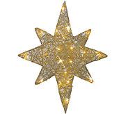20 Gold Spun Glitter Bethlehem Star by Brite Star - H285660