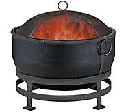 Blue Rhino Bronze Cauldron Style Fire Pit, 28 - H292660