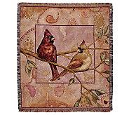 Cardinal Companions Throw - H361660