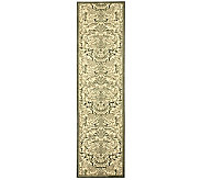 Treasures Damask Power-Loomed Rug - 22 x 8 - H361860