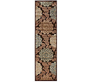 Nourison Reflections 23 x 8 William Morris Machine Made Rug - H366860