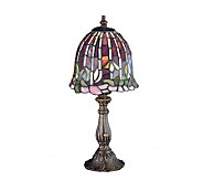 Tiffany Style 16 Flowering Lotus Accent Lamp - H122461