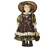 Ellis Island Collection of Porcelain Dolls - Raisa - H144561