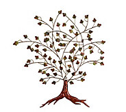 Autumn Tree Metal Wall Art - H156061