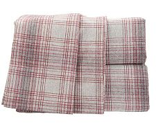 Amadeus Carl Heather Flannel Stripe Sheet Set