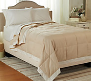 Northern Nights 550 Fill Power Lightweight Linen & Cotton KG Down Blanket - H205661