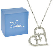 Heartfelt Stainless Steel Necklace with Gift Box by Valerie - H207061