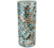 As Is 12 Moroccan Inspired Mosaic Cylinder by Valerie - H209361