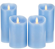 (2) 5 and (2) 7 Mirage Candles by Candle Impressions - H210161