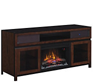 Gramercy Media Mantel Electric Fireplace Easy No-Tool Assembl - H287761