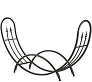 Plow & Hearth Curved Wood Rack - H287861