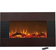 Northwest 36 Mahogany Electric Fireplace - H294161