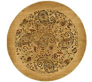 Lyndhurst 8 x 8 Paisley Life Power Loomed Round Rug - H349061