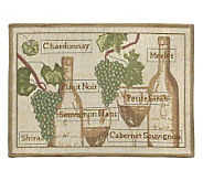 Fruit of the Vine 19x27 Tapestry Rug - H349361