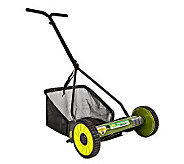 Sun Joe Mow Joe 16 Manual Reel Mower with Catcher - H357961
