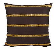 Liz Claiborne New York Chain Reaction Stripe 14x14 Accent Pillow - H168862