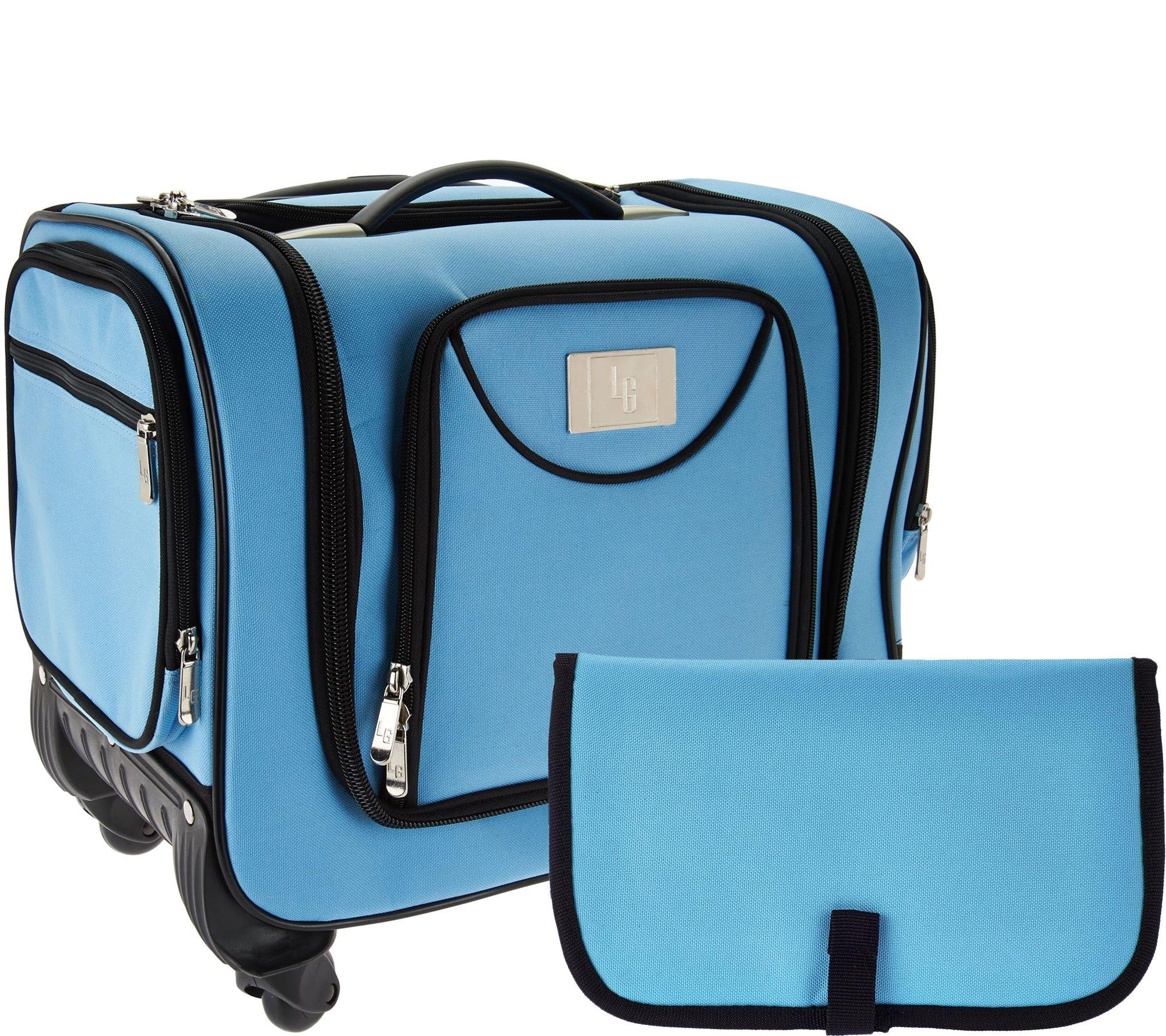 Weekender Bag with Snap In Toiletry Case by Lori Greiner Page 1