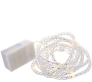 11-foot Soft Rope Light Strand by Valerie - H205362