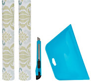 Wallpops S/2 Removable Wallpaper Rolls with Application Kit - H208062