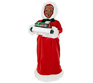 Byers Choice Red Velvet 13 Santa Claus or Mrs. Claus Figurine - H208762