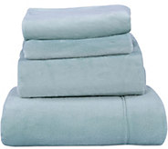 Berkshire Blanket Velvet Soft Cozy Full Sheet Set - H212662