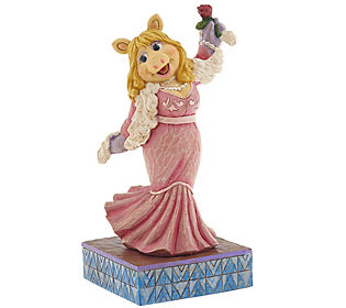 As Is Jim Shore The Muppets Miss Piggy Figurine