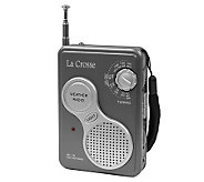 La Crosse Technology 809-905 AM/FM Handheld Weather Radio - H356362