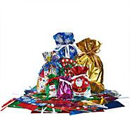 Kringle Express 64 Piece EZ Drawstring Gift Bag Set - H208563