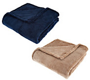 Berkshire Set of 2 50x70 ShearLoft Throws - H209063