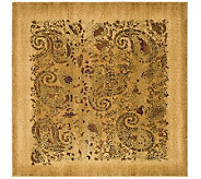 Lyndhurst 8 x 8 Paisley Life Power Loomed Square Rug - H349063