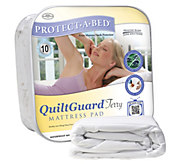 Protect-A-Bed QuiltGuard Terry Full Mattress Pad - H355063