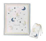 Things Remembered Personalized Moon & Stars Quilt - H125864