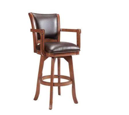 Hillsdale Furniture Park View Swivel Bar Stool Qvc Com