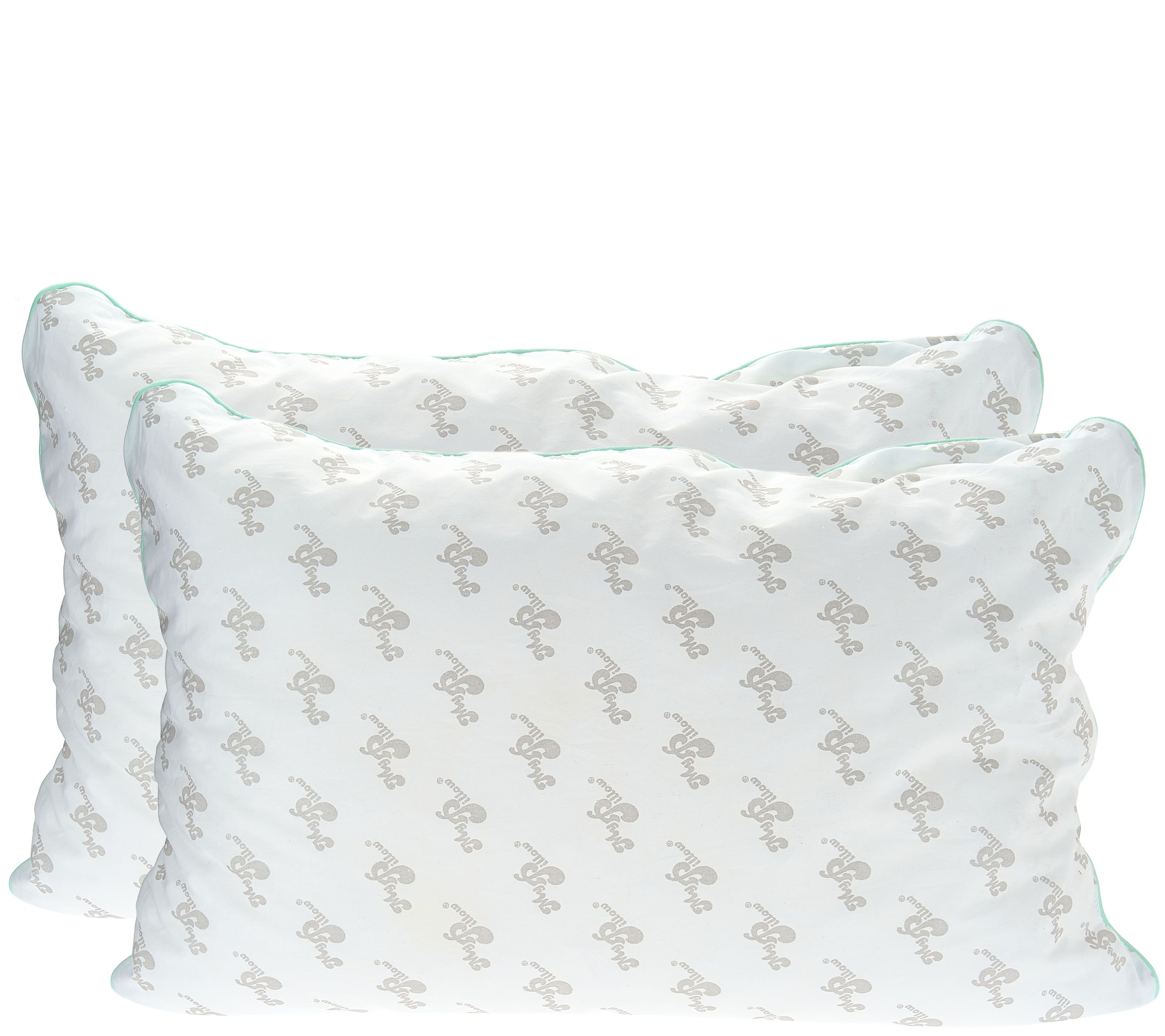 New customer qvc promo code - Mypillow Classic Set Of 2 Std Q Pillows W Color Cording H208864