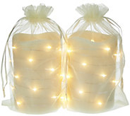 As Is Lightscapes (2) 5 Swirl Light Flameless Candles - H209364